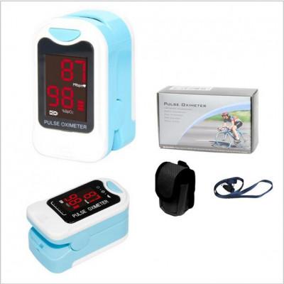 CMS50M-LED-Fingertip-Pulsoximeter-Spo2-Monitor-Tragetasche-Lanyard-HEI-ER-VERKAUF-CE-CONTEC